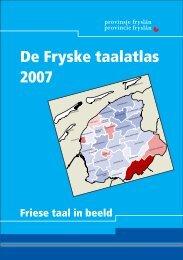 d. 2007-taalatlas-NL - Provincie Fryslân