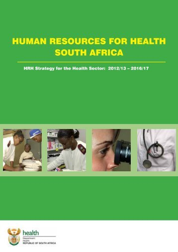 HUMAN RESOURCES FOR HEALTH SOUTH AFRICA - PsySSA