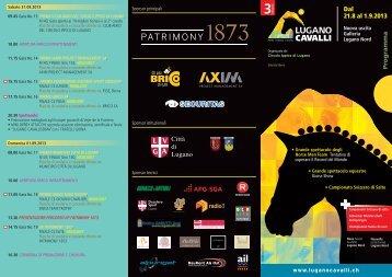 Scarica il programma - Lugano Cavalli