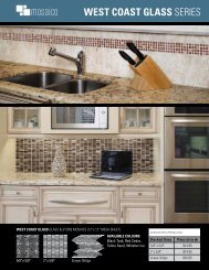 WEST COAST GLASS SERIES - Ames Tile & Stone