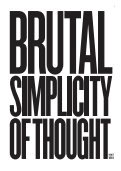 Brutal Simplicity of Thought Book - Page 2