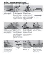 Istruzioni di posa per parquet con Top Connect® - Pavidea Srl ...