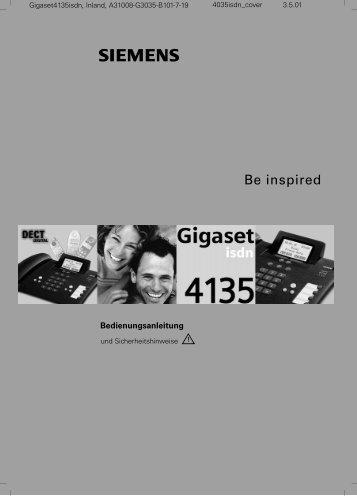 Siemens Gigaset 4135 isdn