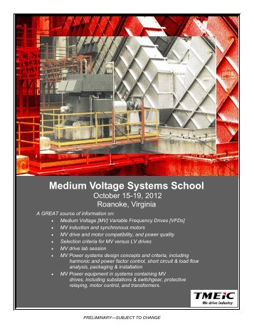 Medium Voltage Systems School - Tmeic.com