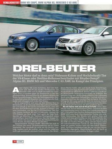 Drei-Beuter - BMW Alpina