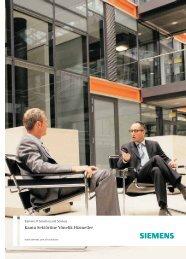 Kamu Sektörüne Yönelik Hizmetler - Siemens