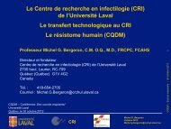 CRI - Québec International