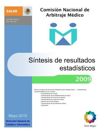 Tema 1 - Comisión Nacional de Arbitraje Médico