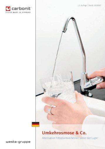 Umkehrosmose & Co.  - carbonit Filtertechnik GmbH