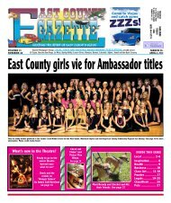 March 29 - East County Gazette