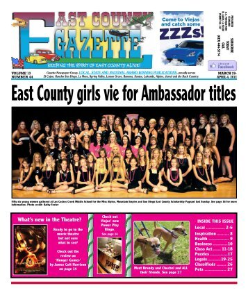 March 29 - East County Gazette