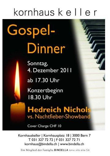 Gospel- Dinner