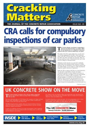 CRA - Concrete Repair Association