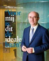 Portret van DNB-directeur Jan Sijbrand