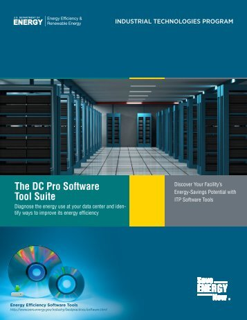 The DC Pro Software Tool Suite - EERE - U.S. Department of Energy