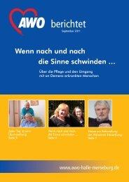 2. Ausgabe 2011 - AWO Regionalverband Halle-Merseburg eV