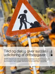 Tillid og dialog giver succes i udlicitering af driftsopgaver - KTC