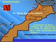 Un Maroc digne des enfants - Observatoire National Du ...