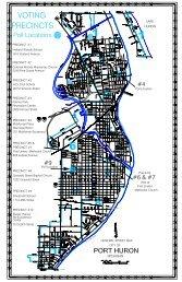 Complete Precinct Map - City of Port Huron