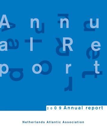 Jaarverslag AC 2009 - Atlantische Commissie