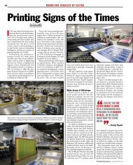Printing Signs of the Times - Ipex