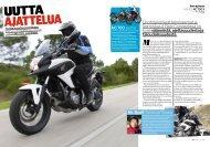 Lue Honda NC700X koeajossa -artikkeli (Bike 2/2012, pdf).