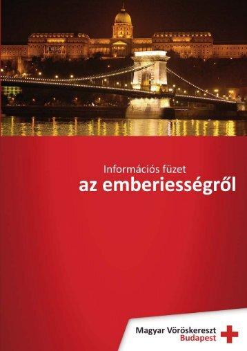 Kiadvány 2008..pdf - Vöröskereszt Budapest
