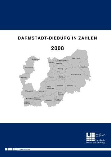 Darmstadt-Dieburg in Zahlen 2008 - Landkreis Darmstadt Dieburg