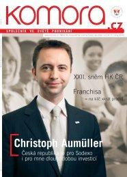 Christoph Aumüller - Hospodářská komora České republiky