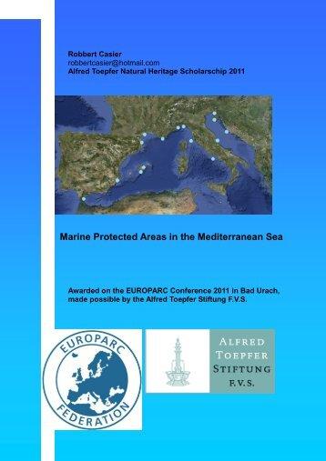 Marine Protected Areas in the Mediterranean Sea - Area Marina ...