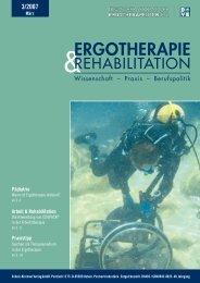 ERgothERapiE & REhabilitation 3/07 - Schulz-Kirchner Verlag