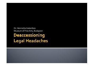 Legal Headaches