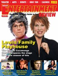 Lewis Family Playhouse - Inland Entertainment Review Magazine
