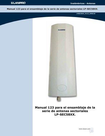 Manual 123 para el ensamblaje de la serie de antenas ... - LanPro