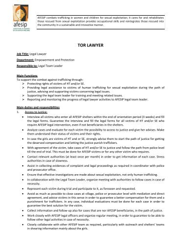 2143_TOR Lawyer 03-13.pdf - Internet Directory of NGOs in the Lao ...