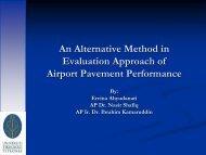 Process of Pavement Performance Evaluation