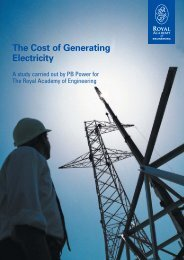 The Costs of Generating Electricity - Royal Academy of Engineering