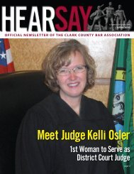 Meet Judge Kelli Osler - Clark County Bar Association