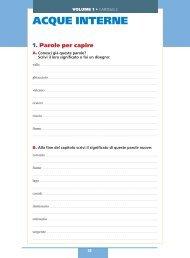 ACQUE INTERNE - Benvenuti nella scuola italiana