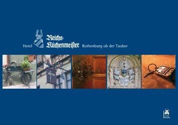 Hotel Rothenburg ob der Tauber - Hotel Reichsküchenmeister