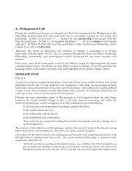 3. Philippians 2:1-30 PDF - Gospel Lessons