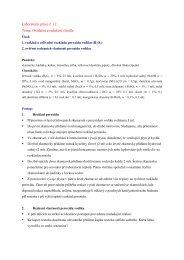 Oxidační a redukční činidla - Chemie na GJO