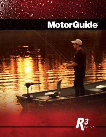 Katalog MotorGuide R3 Elektrobootsmotoren 2011