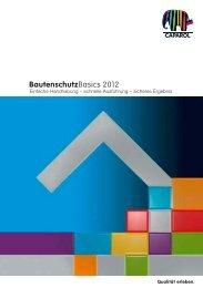 BautenschutzBasics 2012 - Caparol