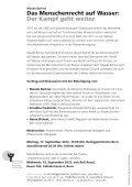 Das Menschenrecht auf Wasser: - offene kirche - Seite 2