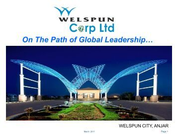 Pipes - Welspun