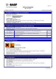 HMS - Datablad, A - BASF Construction Chemicals