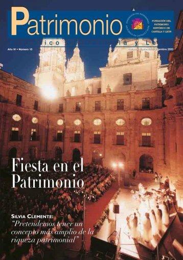 Año 4 - Número 15 - Fundación del Patrimonio histórico de Castilla ...