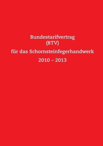 (BTV) für das Schornsteinfegerhandwerk 2010 - Zentralverband ...