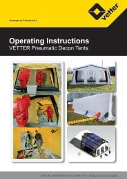 Operating Instructions - Vetter GmbH